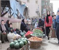 امسك مخالفة| سوق الخضار بـ«الدلجمون» في الغربية يهدد بانتشار كورونا