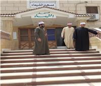 صور| قيادات أوقاف السويس تواصل جولاتها المرورية على المساجد