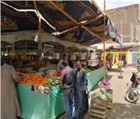 السوق الحضرى بالأقصر يواصل مكافحة الغلاء