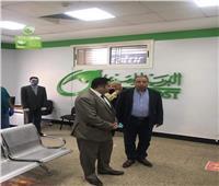 نائب محافظة القاهرة يتابع عمليات صرف معاش تكافل وكرامة