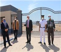 «خالد فودة» يتفقد إجراءات غلق الشواطئ والحدائق العامة بطور سيناء