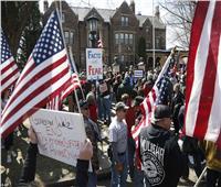 صور| بعد دعوة ترامب بتحرير الولايات.. المظاهرات تجتاح شوارع أمريكا