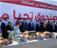 شعراوي يشارك صندوق «تحيا مصر» توزيع 3 قوافل غذائية