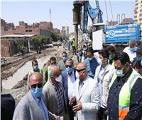 وزير النقل يتفقد أعمال للتطوير والصيانة الشاملة للطريق الدائري