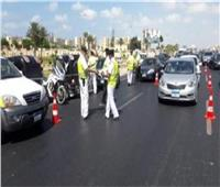 شم النسيم| حملات مرورية لمنع التكدسات ورصد المخالفين بالطرق