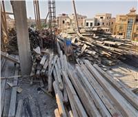 جهاز القاهرة الجديدة يواصل حملات إزالة مخالفات البناء والتعديات بالمدينة