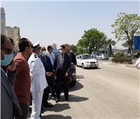 محافظ القاهرة يتفقد الحدائق والشوارع خلال شم النسيم