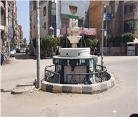 شم النسيم| صور.. ميادين وشوارع مدينة كفر شكر بالقليوبية خالية من المواطنين