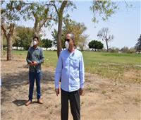 محافظ الإسماعيلية يتفقد الحدائق والشواطىء في شم النسيم
