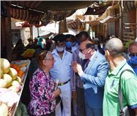 محافظ أسوان: ندرس إنشاء مشروع السوق الحضاري