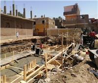 إحلال وتجديد مبنى مدرسة بالطود ورفع 80 طن مخلفات بالزينية في الأقصر