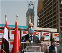 الشركة الصينية المنفذة لأبراج العاصمة الإدارية تقدم حزمة من المساعدات الطبية لمصر