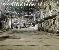 رغم كورونا.. زينة «رمضان» ترسم الفرحة في شوارع دمياط