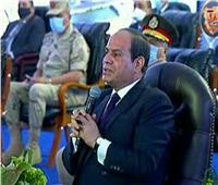 فيديو| السيسي: التنمية الحقيقية في سيناء تحتاج مبالغ طائلة