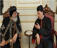 البطريرك بشارة الراعي يعزي البابا تواضروس في وفاة القس رويس الأورشليمي