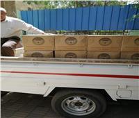 5 آلاف كرتونه مواد غذائية لدعم الفئات الأكثر احتياجا بالغربية