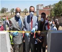 نائب محافظ المنيا يُسلم 180 منزلا بعد إعادة تاهيلها بقرى العدوة