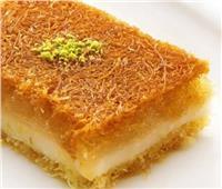 حلويات رمضان| طريقة عمل «كنافة بكريمة القشطة»