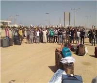 حجر صحي بفنادق سفاجا للمصريين العائدين من ميناء ضبا