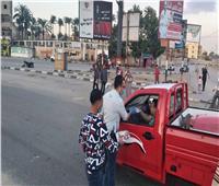 مرور الدقهلية يوزع وجبات إفطار وإمساكيات رمضانعلى السائقين بالطرق السريعة