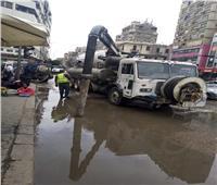 محافظ القاهرة يوجه بإصلاح كسر ماسورة مياه روض الفرج