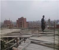 حملة لإزالة المباني المخالفة بالساحل
