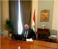 وزير الخارجية يشارك في الدائرة المستديرة التي نظمتها مؤسسة «كيميت»