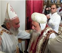البابا تواضروس يعزي كاهن فرانكفورت القمص بيجول باسيلي