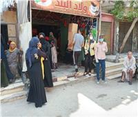 إستمرار مبادرات جامعة حلوان لدعم العمالة اليومية