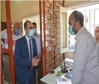 نائب المحافظ يتفقد مشروعات المبادرة الرئاسية «حياة كريمة» بسوهاج