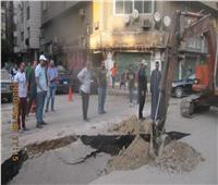 محافظ القاهرة: الانتهاء من إصلاح مكان الهبوط الأرضى بحدائق القبة