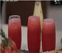 «عصير البطيخ» لترطيب جسمك بعد الإفطار| فيديو