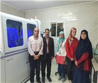 أول جهاز لعمل مسحات فيروس كورونا في محافظة الغربية