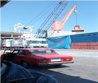 تصدير 17 ألف طن ملح وحاصلات زراعية عبر بميناء الإسكندرية