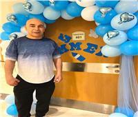 حسام حسن يحتفل بمولوده الجديد «آمر»