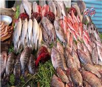 أسعار الأسماك في سوق العبور في ثامنأيام شهر رمضان