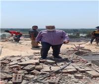 سكرتير محافظة القليوبية يقود حملة إزالة الأدوار المخالفة ببرج سكني بالقناطر الخيرية