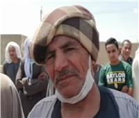 والد شهيد الواجب ببئر العبد المجند محمد عوض: «مليش طلبات وربنا كرم ابني»