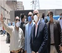 بتكلفة 48 مليون جنيه| محافظ القاهرة يتفقد أعمال تطوير جسر السويس