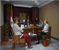 الوزيري ييلتقي سفير التشكيك بالقاهرة لمناقشة إقامة معرض أثري
