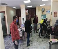 تعقيم مكاتب بريد في الإسكندرية تزامنا مع صرف المعاشات