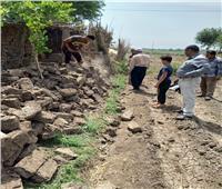 محافـظ المنوفية : إزالة فورية لـ 5 حالات تعدي علي الأراضي الزراعية بأشمون