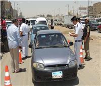 المرور تواصل حملاتها على الطرق وتضبط 1802 مخالفة متنوعة