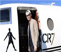 كريستيانو رونالدو يصل إلى إيطاليا