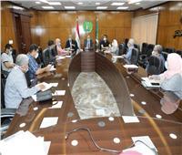 محافظ المنوفية يستقبل وفد مجلس الوزراءلمتابعة نسب تنفيذ المشروعات القومية