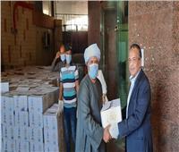 توزيع 21 ألف كرتونة مواد غذائية على العاملين بالسياحة بسبب كورونا