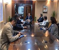 وزير السياحة والآثار يلتقي برئيسالجهاز المركزي للتنظيم والإدارة