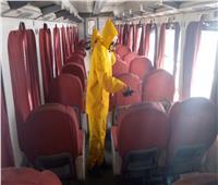 «السكة الحديد» تواصل حصار فيروس كورونا