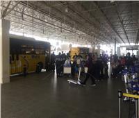 مطار القاهرة يستقبل 298 مصريا من العالقين بالكويت