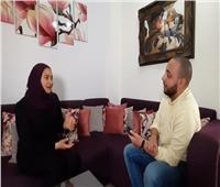 خاص فيديو| رسالة من زوجة الشهيد أحمد المنسي لـ«أحمد العوضي»